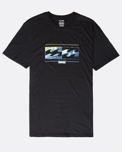0 Inversed - T-Shirt für Männer Schwarz Q1SS22BIF9 Billabong