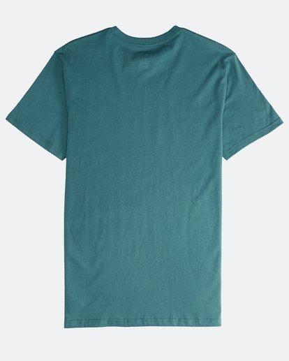 1 Inversed - T-Shirt für Männer Grün Q1SS22BIF9 Billabong