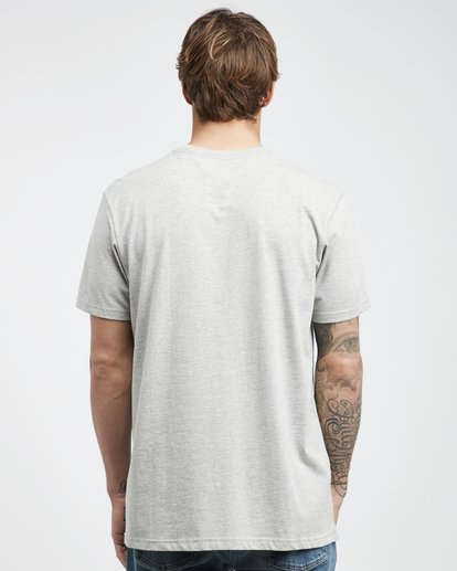 7 Inversed - T-Shirt für Männer Grau Q1SS22BIF9 Billabong
