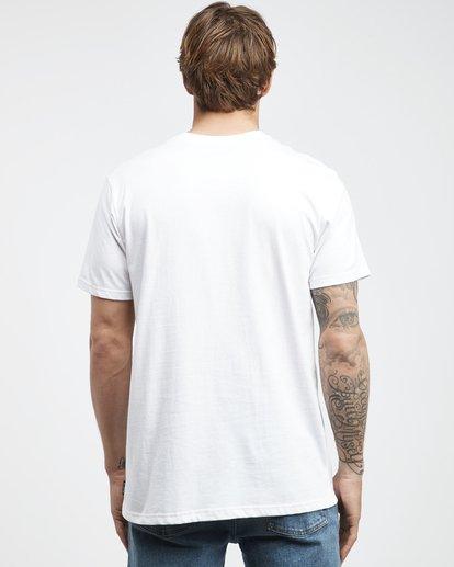 7 Inversed - T-Shirt für Männer Weiss Q1SS22BIF9 Billabong