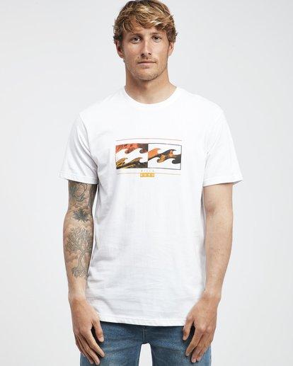 6 Inversed - T-Shirt für Männer Weiss Q1SS22BIF9 Billabong