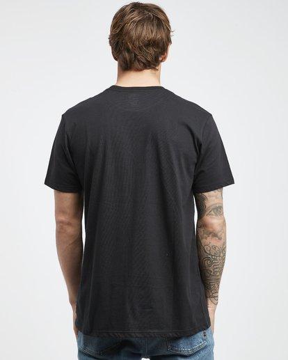 7 Inversed - T-Shirt für Männer Schwarz Q1SS22BIF9 Billabong