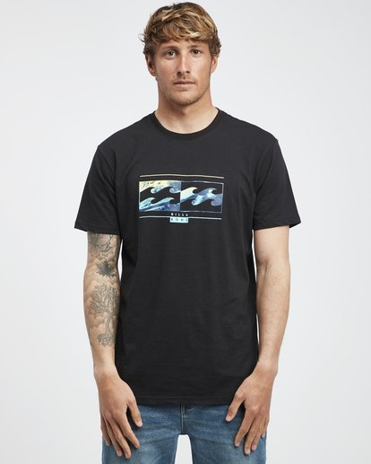 6 Inversed - T-Shirt für Männer Schwarz Q1SS22BIF9 Billabong