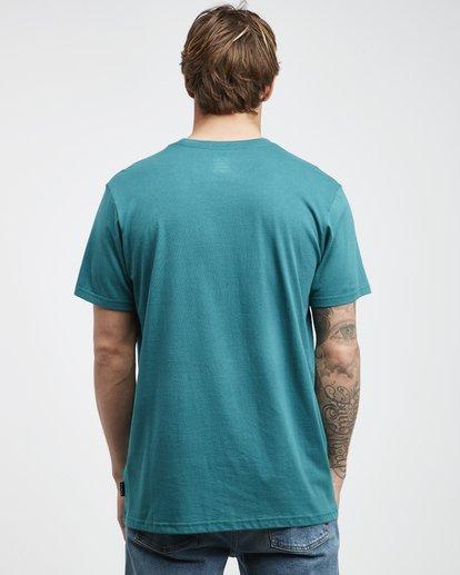 7 Inversed - T-Shirt für Männer Grün Q1SS22BIF9 Billabong