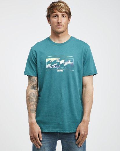 6 Inversed - T-Shirt für Männer Grün Q1SS22BIF9 Billabong