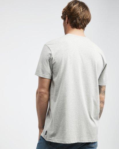 3 Inversed - T-Shirt für Männer Grau Q1SS22BIF9 Billabong