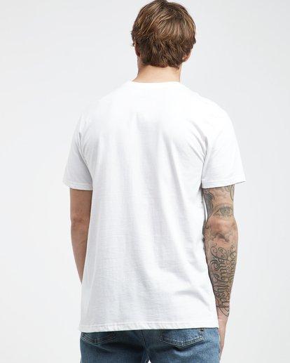 3 Inversed - T-Shirt für Männer Weiss Q1SS22BIF9 Billabong