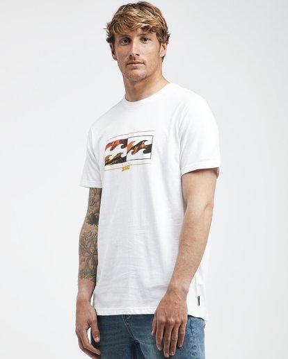 2 Inversed - T-Shirt für Männer Weiss Q1SS22BIF9 Billabong
