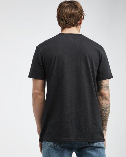 3 Inversed - T-Shirt für Männer Schwarz Q1SS22BIF9 Billabong