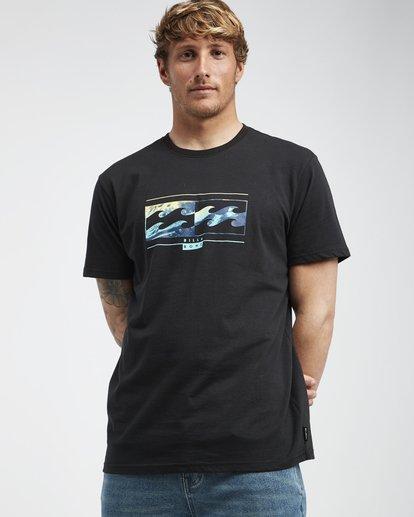 2 Inversed - T-Shirt für Männer Schwarz Q1SS22BIF9 Billabong