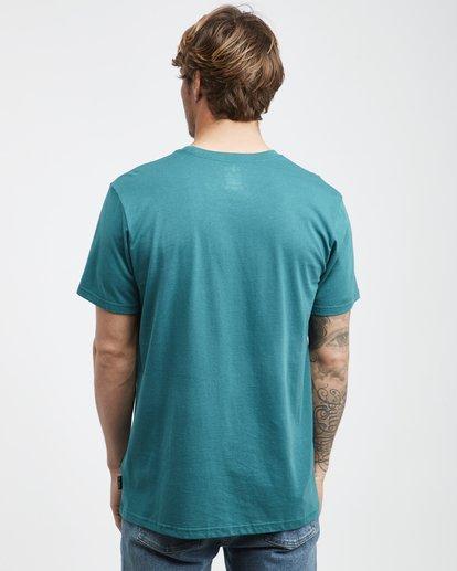 3 Inversed - T-Shirt für Männer Grün Q1SS22BIF9 Billabong