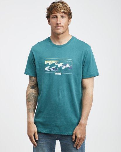 2 Inversed - T-Shirt für Männer Grün Q1SS22BIF9 Billabong