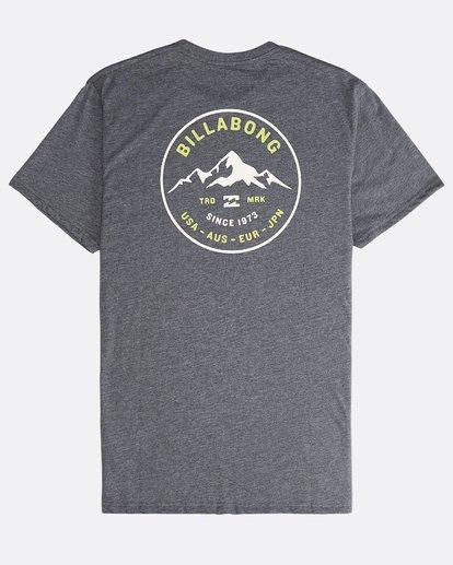 1 Aurora - T-Shirt für Männer Grau Q1SS23BIF9 Billabong