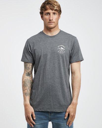 7 Aurora - T-Shirt für Männer Grau Q1SS23BIF9 Billabong
