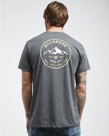 3 Aurora - T-Shirt für Männer Grau Q1SS23BIF9 Billabong