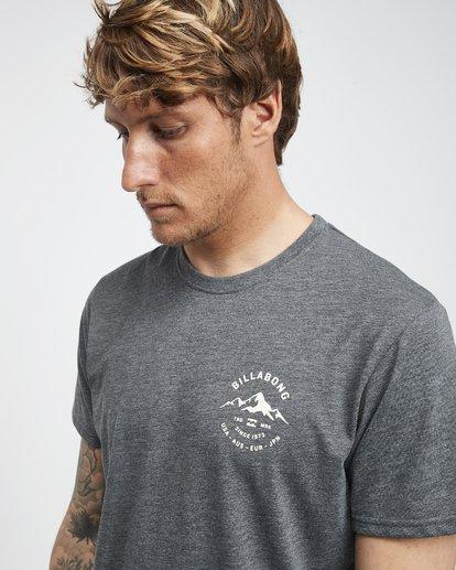 4 Aurora - T-Shirt für Männer Grau Q1SS23BIF9 Billabong