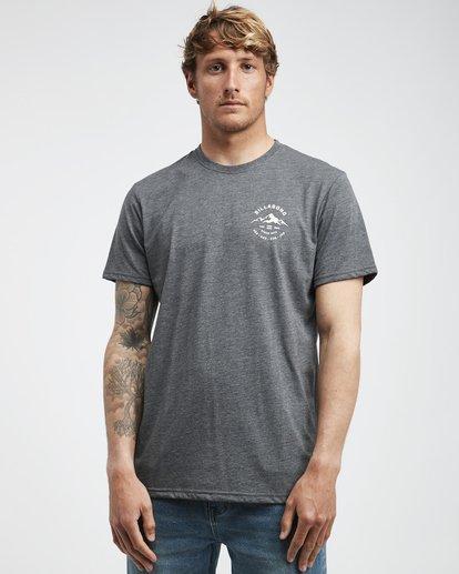 2 Aurora - T-Shirt für Männer Grau Q1SS23BIF9 Billabong
