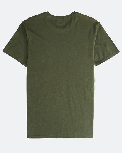 1 Jungle - Camiseta de Manga Corta para Hombre Camo Q1SS24BIF9 Billabong