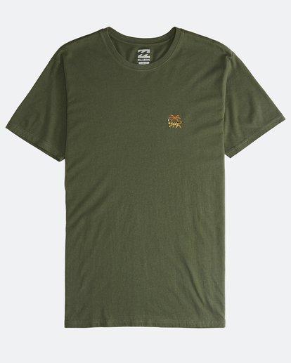 0 Jungle - Camiseta de Manga Corta para Hombre Camo Q1SS24BIF9 Billabong