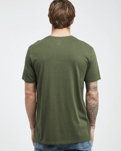 8 Jungle - Camiseta de Manga Corta para Hombre Camo Q1SS24BIF9 Billabong