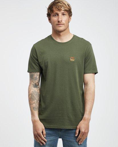 7 Jungle - Camiseta de Manga Corta para Hombre Camo Q1SS24BIF9 Billabong