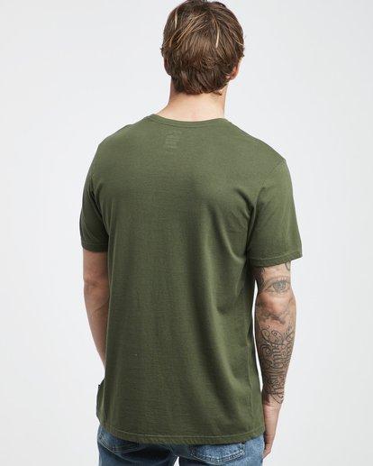 3 Jungle - Camiseta de Manga Corta para Hombre Camo Q1SS24BIF9 Billabong