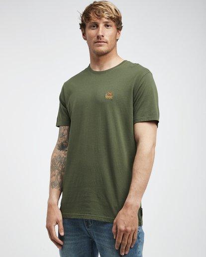 2 Jungle - Camiseta de Manga Corta para Hombre Camo Q1SS24BIF9 Billabong