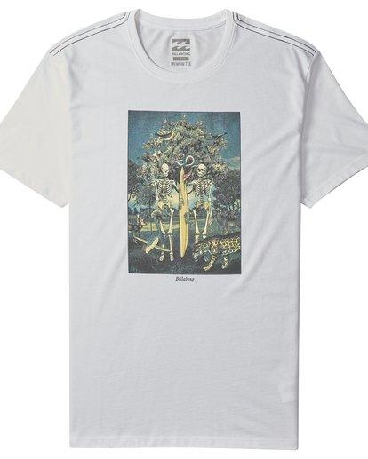 4 Temptation - Camiseta de Manga Corta para Hombre Blanco Q1SS26BIF9 Billabong