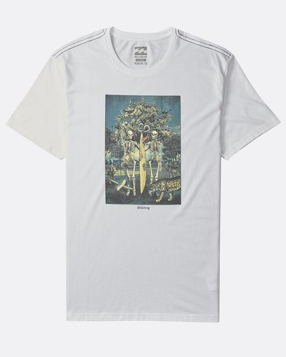 0 Temptation - Camiseta de Manga Corta para Hombre Blanco Q1SS26BIF9 Billabong