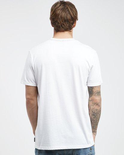 7 Temptation - Camiseta de Manga Corta para Hombre Blanco Q1SS26BIF9 Billabong