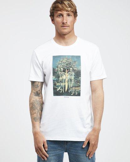 6 Temptation - Camiseta de Manga Corta para Hombre Blanco Q1SS26BIF9 Billabong