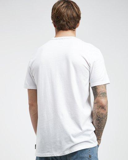3 Temptation - Camiseta de Manga Corta para Hombre Blanco Q1SS26BIF9 Billabong