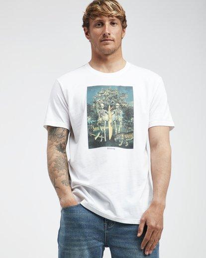2 Temptation - Camiseta de Manga Corta para Hombre Blanco Q1SS26BIF9 Billabong