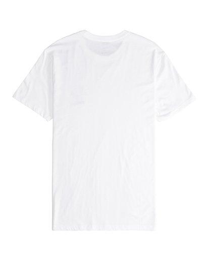 6 Island - Camiseta de Manga Corta para Hombre Blanco Q1SS27BIF9 Billabong