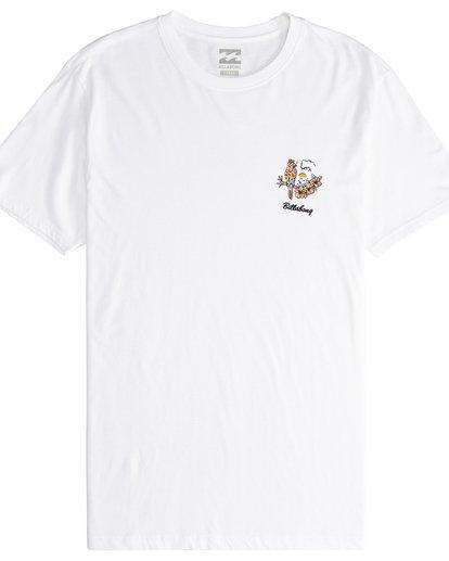 5 Island - T-Shirt für Männer Weiss Q1SS27BIF9 Billabong