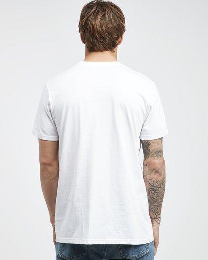 8 Island - Camiseta de Manga Corta para Hombre Blanco Q1SS27BIF9 Billabong