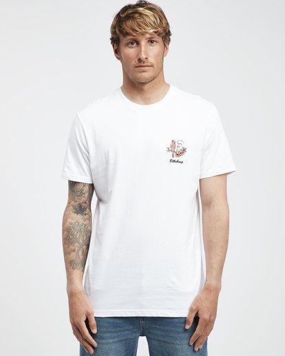 7 Island - T-Shirt für Männer Weiss Q1SS27BIF9 Billabong