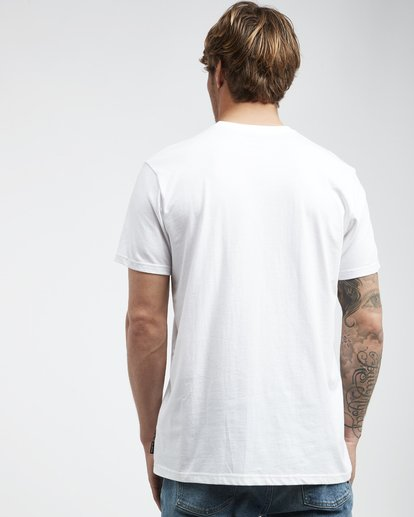 3 Island - Camiseta de Manga Corta para Hombre Blanco Q1SS27BIF9 Billabong