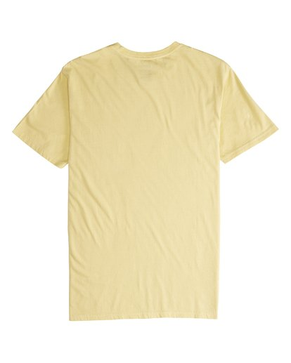 5 Maitai - Camiseta de Manga Corta para Hombre Amarillo Q1SS28BIF9 Billabong