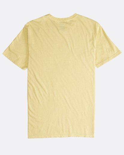 1 Maitai - Camiseta de Manga Corta para Hombre Amarillo Q1SS28BIF9 Billabong