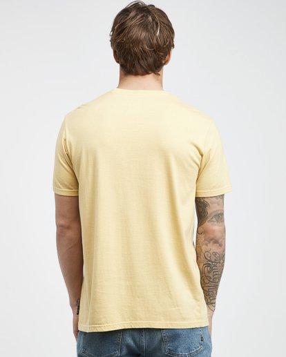 7 Maitai - Camiseta de Manga Corta para Hombre Amarillo Q1SS28BIF9 Billabong