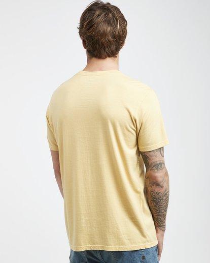 3 Maitai - Camiseta de Manga Corta para Hombre Amarillo Q1SS28BIF9 Billabong
