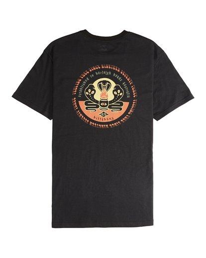 6 Trifecta - T-Shirt für Männer Schwarz Q1SS30BIF9 Billabong