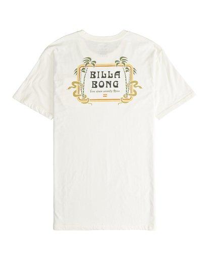 6 Trifecta - T-Shirt für Männer Weiss Q1SS30BIF9 Billabong