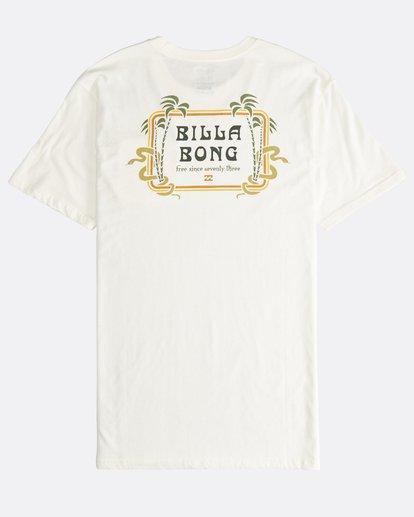 1 Trifecta - T-Shirt für Männer Weiss Q1SS30BIF9 Billabong