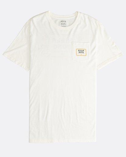 0 Trifecta - T-Shirt für Männer Weiss Q1SS30BIF9 Billabong