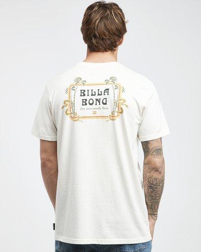 8 Trifecta - T-Shirt für Männer Weiss Q1SS30BIF9 Billabong