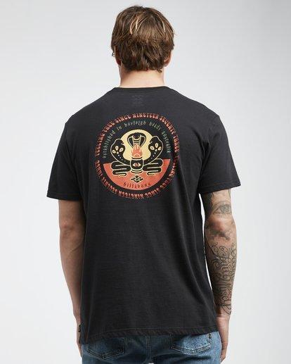 3 Trifecta - T-Shirt für Männer Schwarz Q1SS30BIF9 Billabong
