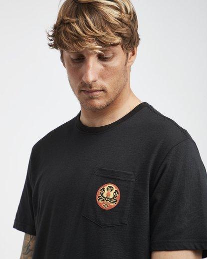 4 Trifecta - T-Shirt für Männer Schwarz Q1SS30BIF9 Billabong