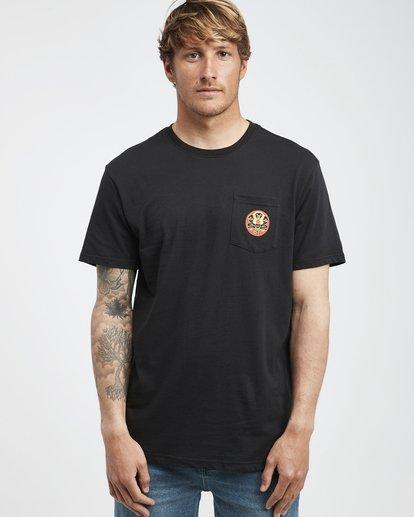 2 Trifecta - T-Shirt für Männer Schwarz Q1SS30BIF9 Billabong